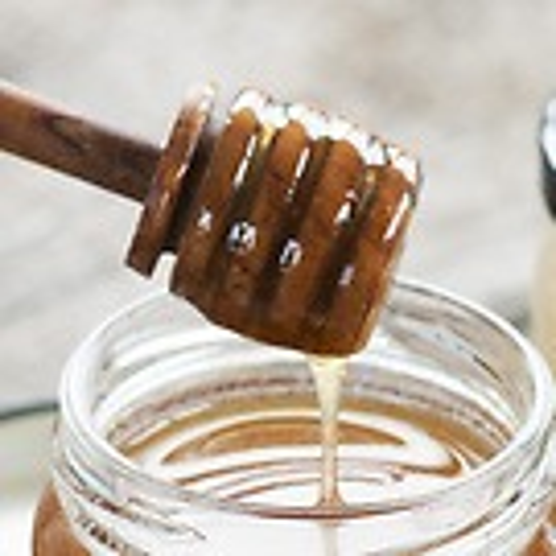 Honigportionierer aus Olivenholz