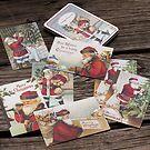Vintage-Weihnachtskarten Santa Claus