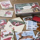 Santa Christmas Mailing Set