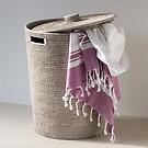 Wäschebehälter Rattangeflecht