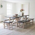 Chilson Tisch & Bank Garnitur für 10 Personen