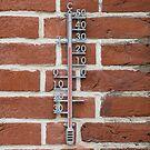 Außenthermometer Zink