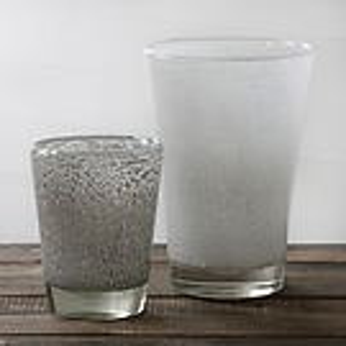 DutZ Konische Vase White Bubbles