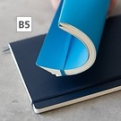 Notizbuch B5 Composition Blanko