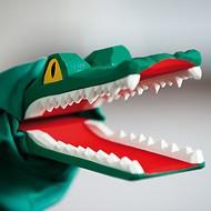 Sievers-Hahn Handpuppe Krokodil
