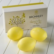 Bronnley Zitronenseife: Das Original 3 Stück