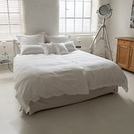 Torquato Bettbezug Perkal 155 x 220 cm Weiß
