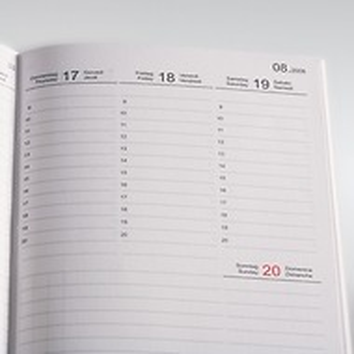 X47 Wochenkalender 2020  A6