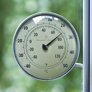 Fensterthermometer Zink