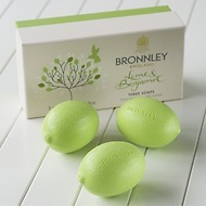 Bronnley Lime & Bergamotte Seife 3 Stück