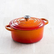 Le Creuset Bräter rund Ofenrot