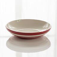 2 Pastateller Cornishware Rot