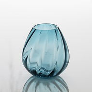 Kleine Vase Aqua light