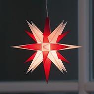 Kleiner Herrnhuter Stern aus Kunststoff