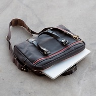 Croots Vintage Canvas Laptop Bag