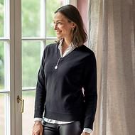 Merino-Pullover von William Lockie
