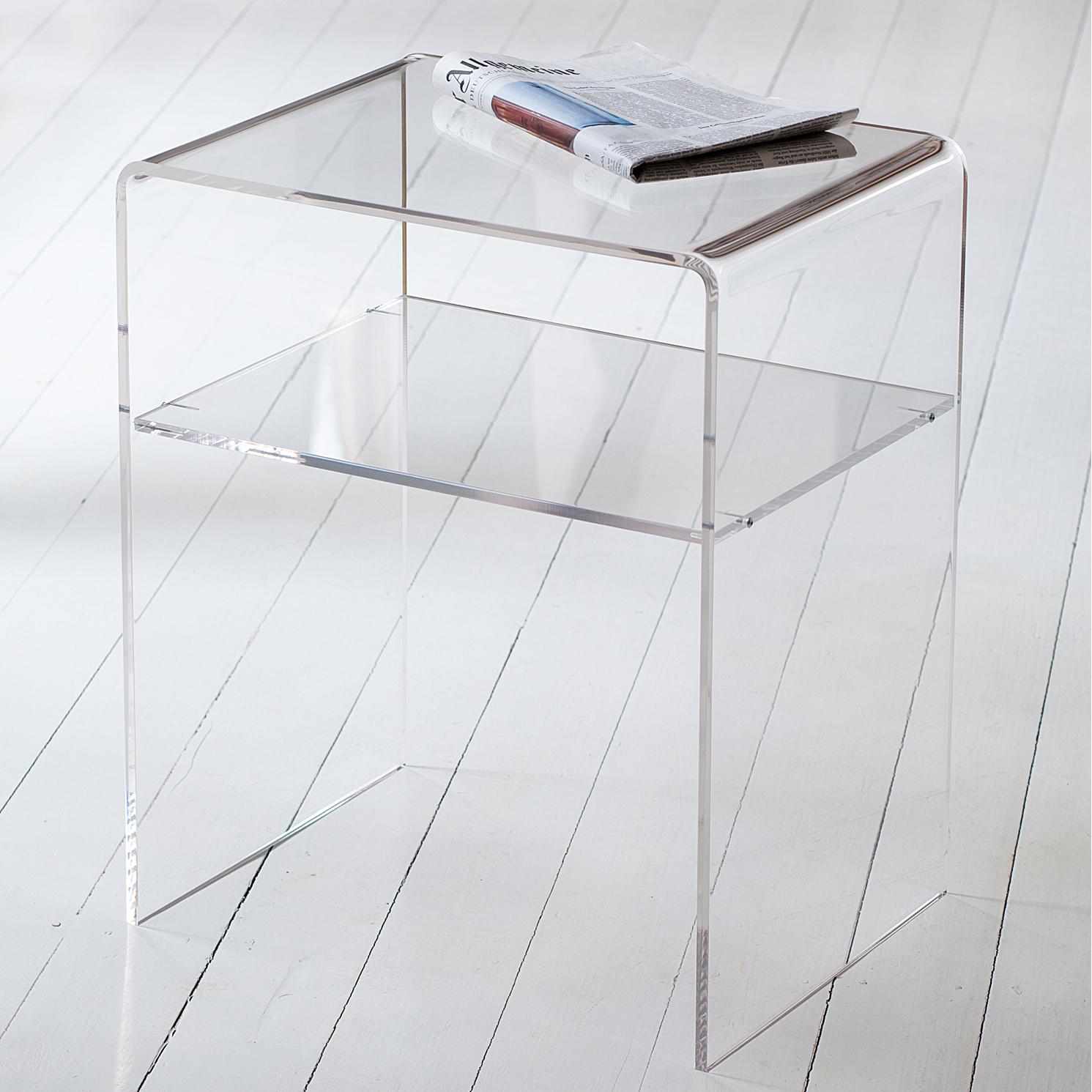 acryl beistelltisch online bestellen schnelle lieferung. Black Bedroom Furniture Sets. Home Design Ideas