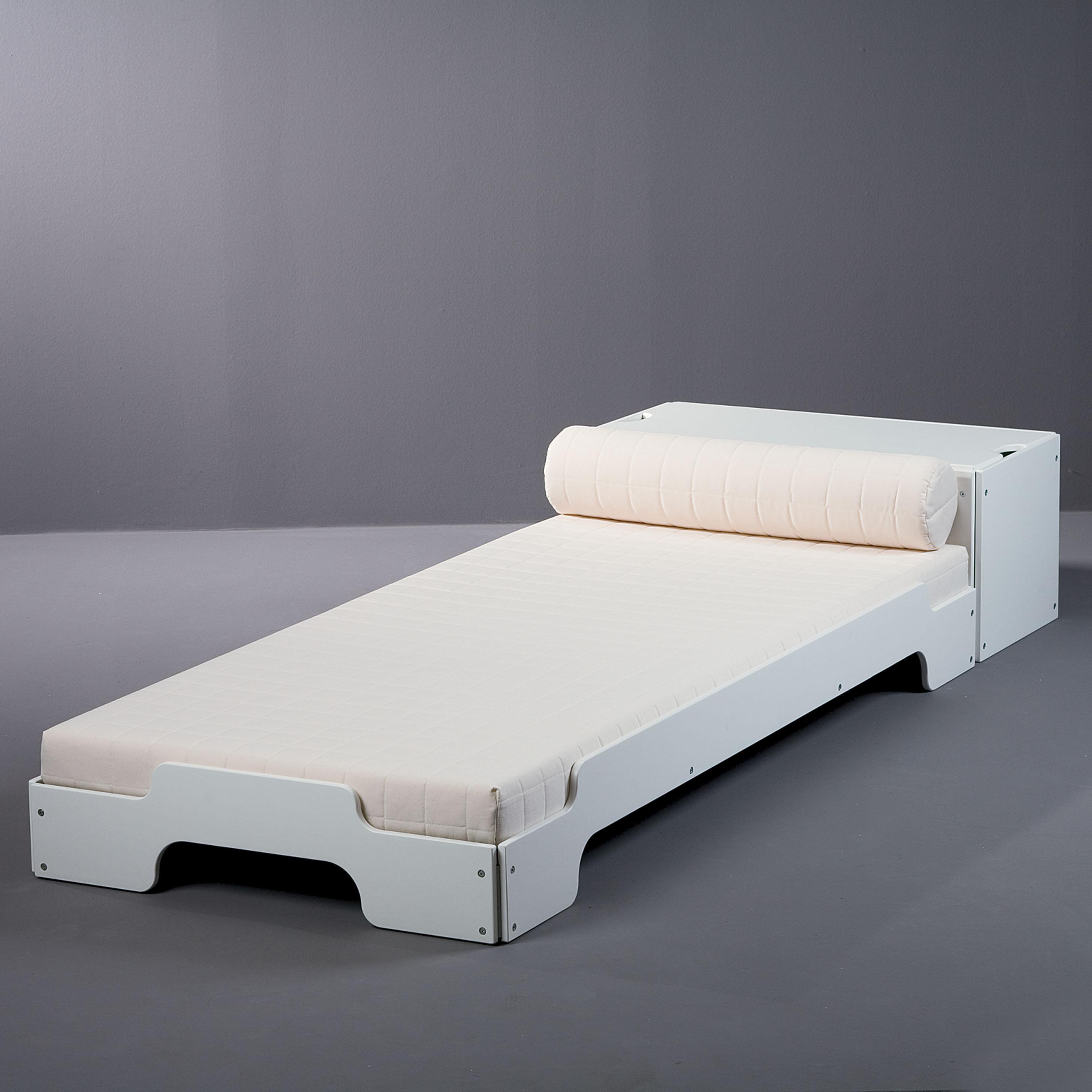 Stapelliege Heide Weiß 90x200
