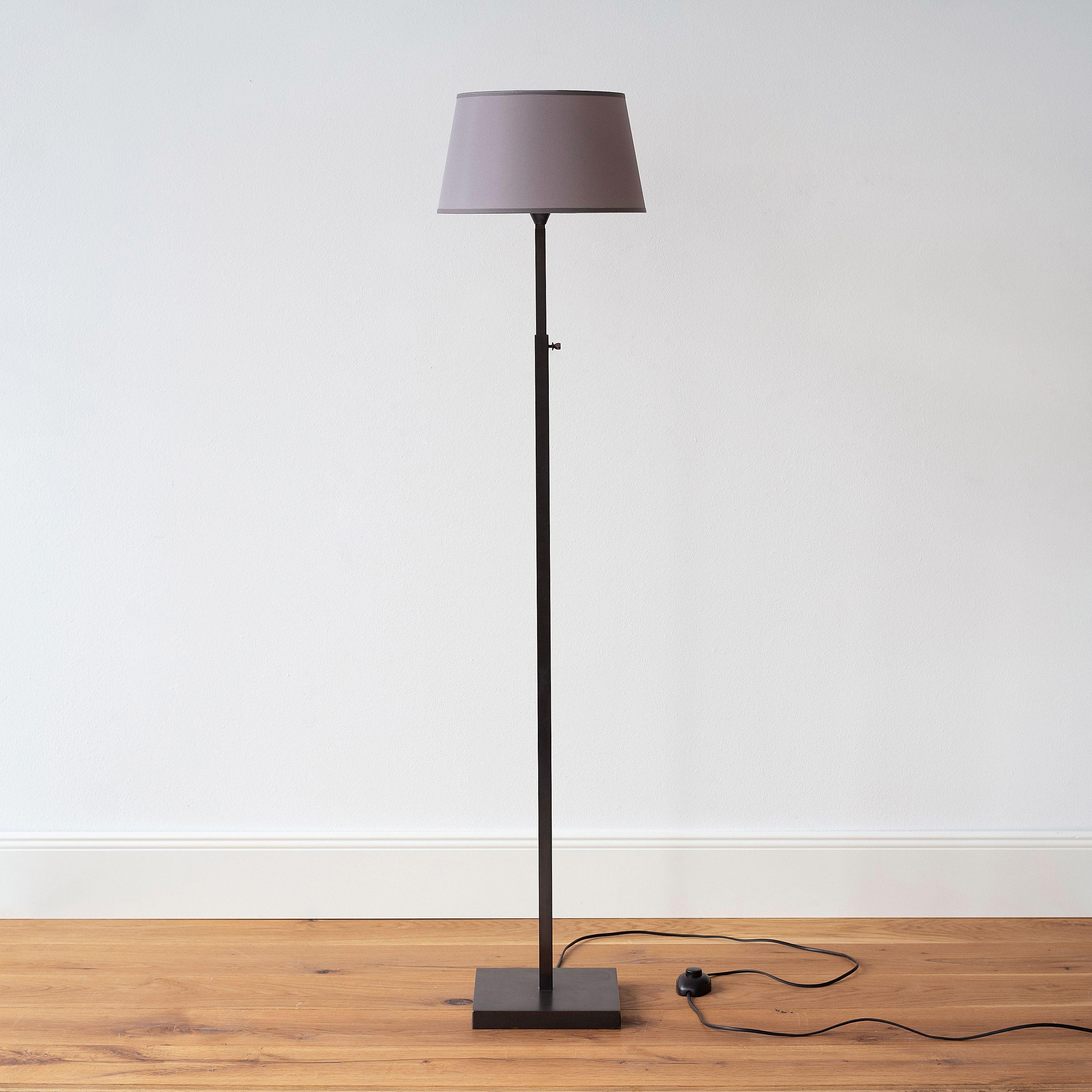 verstellbare stehleuchte l schwarz bei. Black Bedroom Furniture Sets. Home Design Ideas