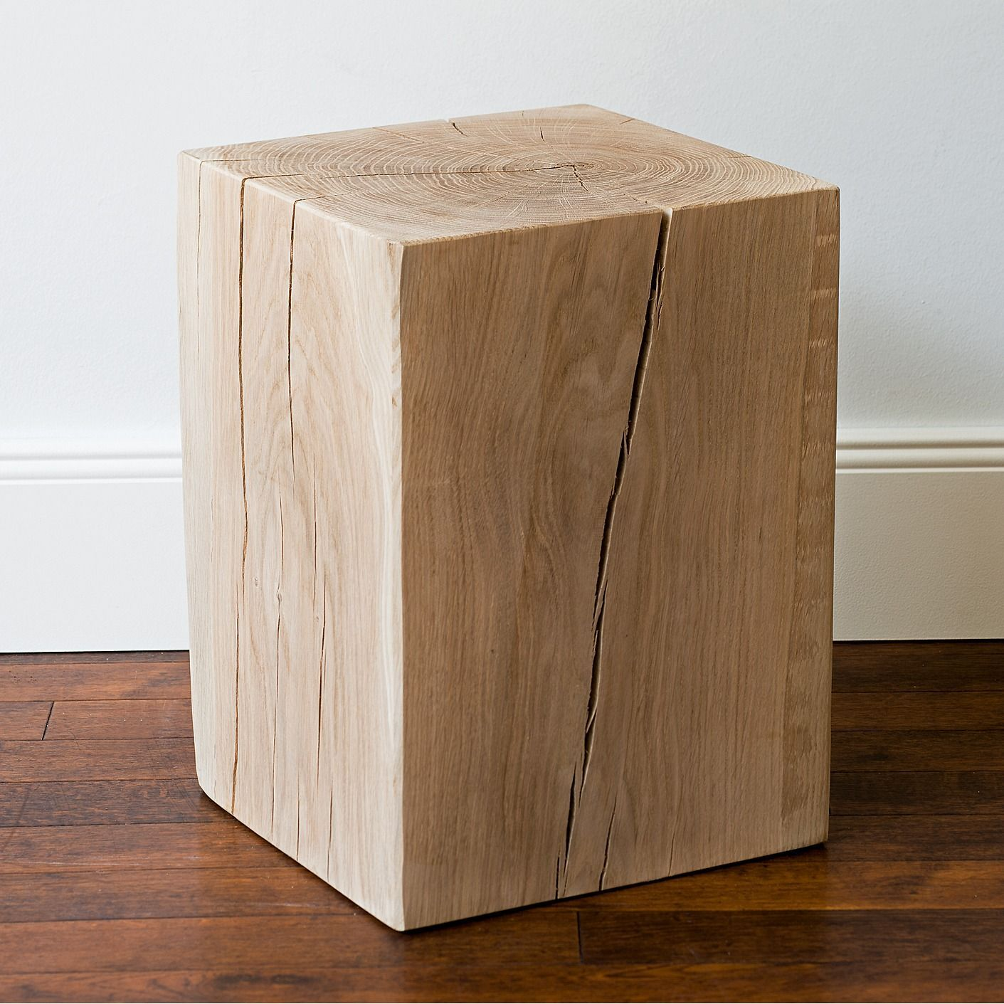 holz hocker aus massiver eiche bei kaufen. Black Bedroom Furniture Sets. Home Design Ideas