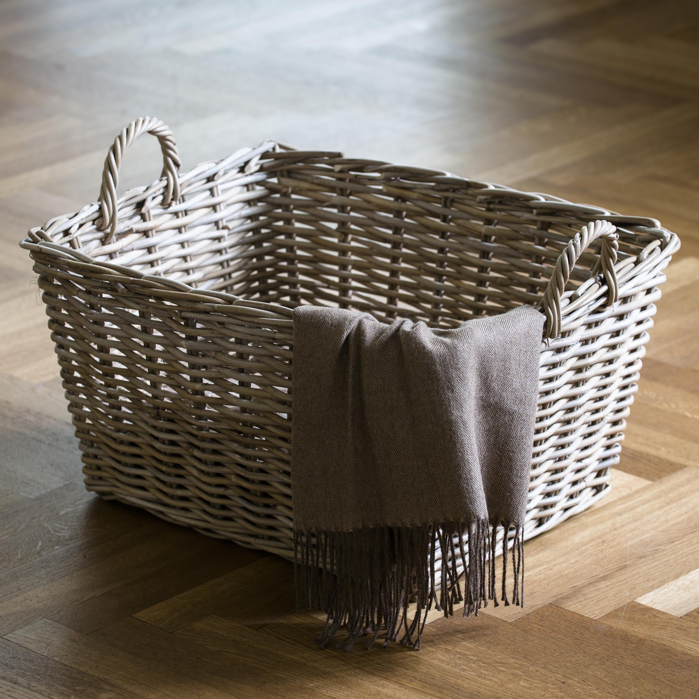 rattankorb rechteckig bei. Black Bedroom Furniture Sets. Home Design Ideas
