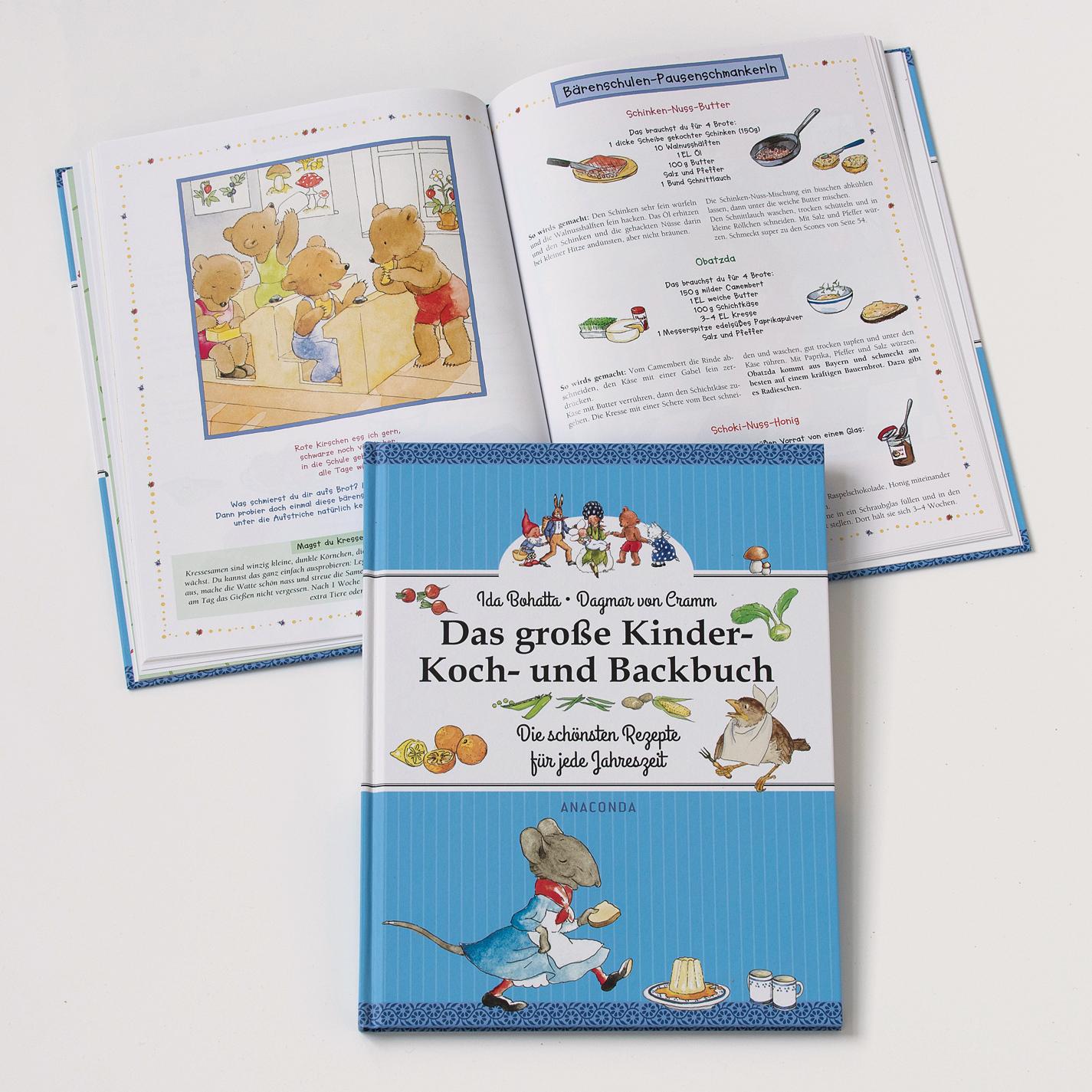Koch- & backbücher  Das großer Kinder Koch- und Backbuch online kaufen | Torquato.de