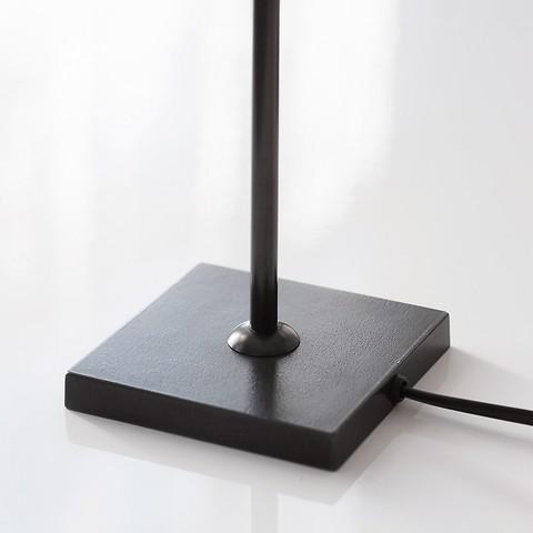 Kleine Tischleuchte 43 cm Schwarz