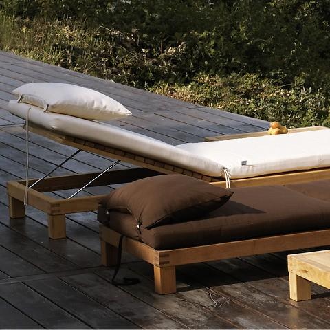 Auflage für Sonnenbett Kos Natur