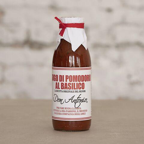 Don Antonio Tomatensauce mit Basilikum 480 ml
