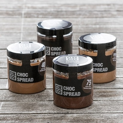 Chocspread Dark 85 % with Cocoa Nibs 250 g