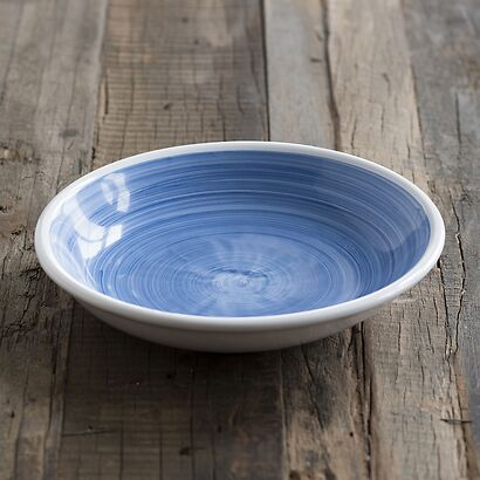 Ruggeri Brushed Blu Suppenteller 22 cm
