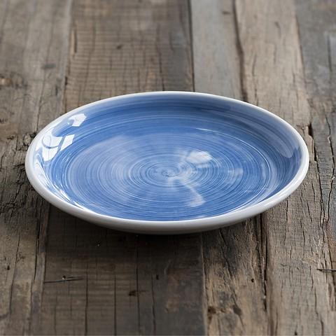 Ruggeri Kleiner Teller - Brushed Blu Ø 21 cm