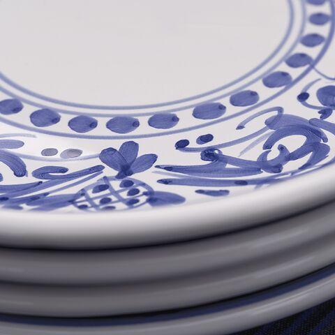 Ruggeri Ovale Platte - Adelasia Blu 36 cm