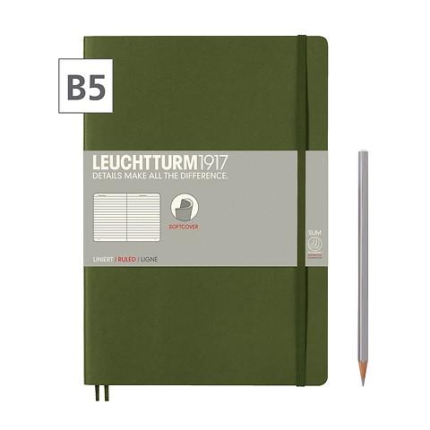 Notizbuch B5 Composition  Liniert Army