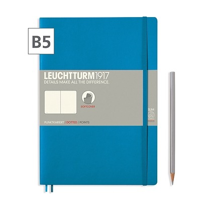 Notizbuch Composition B5 Dotted Azur