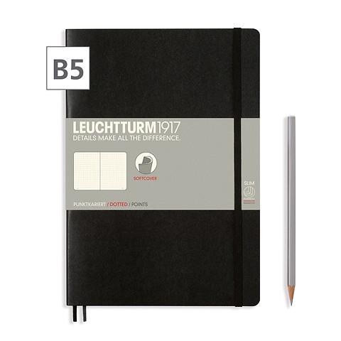 Notizbuch Composition B5 Dotted Schwarz