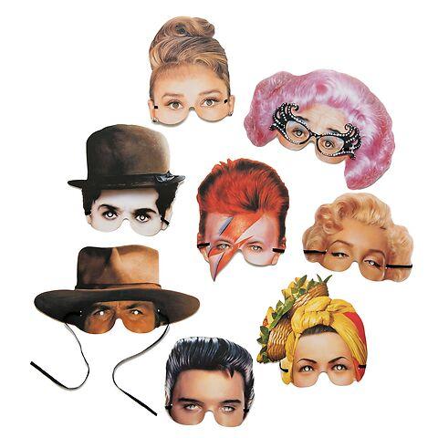 Karnevalsmasken 'Icons of the 20th century'