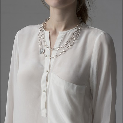 Marjana von Berlepsch Halskette Misty Silber