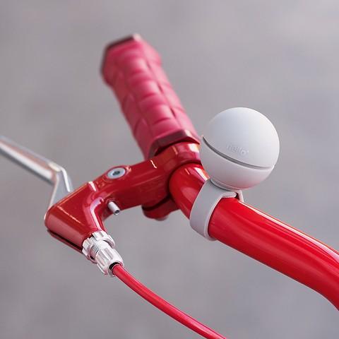 Nello Magnetische Fahrradklingel  Weiß