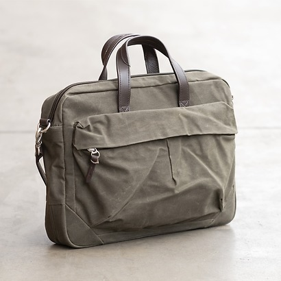 Property of - Tommy Work Bag Dark Tan