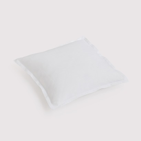 Torquato Kissenbezug Leinen 40 x 40 cm Weiß