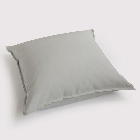 Torquato Kissenbezug Leinen 80 x 80 cm Grau