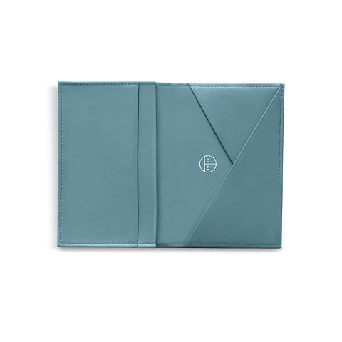 Treuleben Business Card Caddy Pigeon Blue