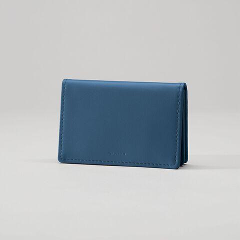 Treuleben Business Card Caddy Prussian Blue