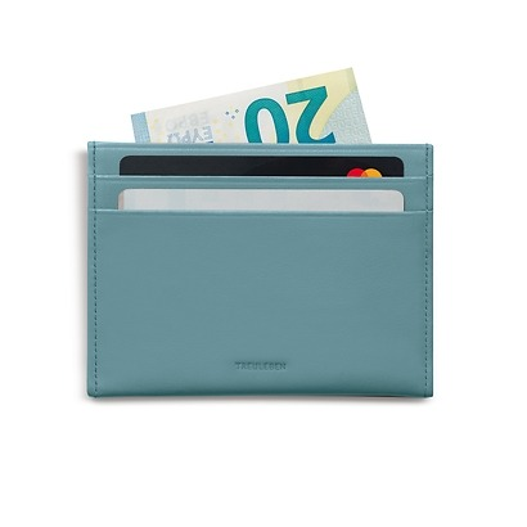 Treuleben Credit Card Caddy Pigeon Blue