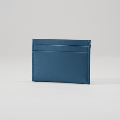 Treuleben Credit Card Caddy Prussian Blue