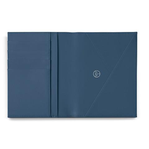 Treuleben Passport Caddy Prussian Blue