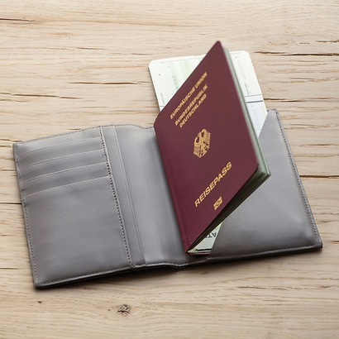 Treuleben Passport Caddy Nero