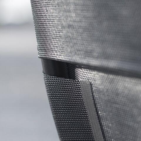 Aluminium-Liegestuhl Samba Limited Edition Schwarz