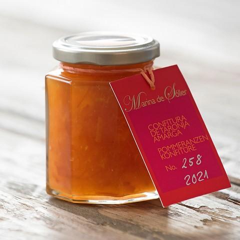 Pomeranzenmarmelade aus Sóller